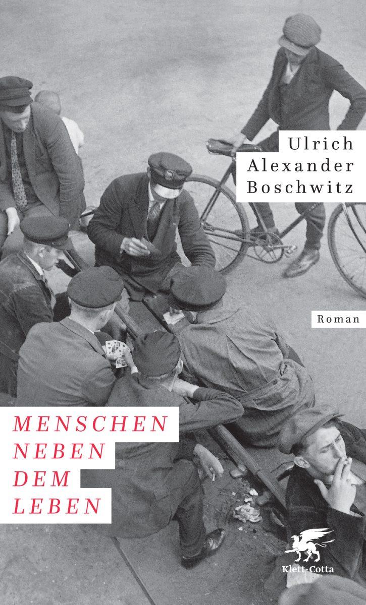 Cover des Buches zeigt Menschen auf der Straße in schwarz-weiß