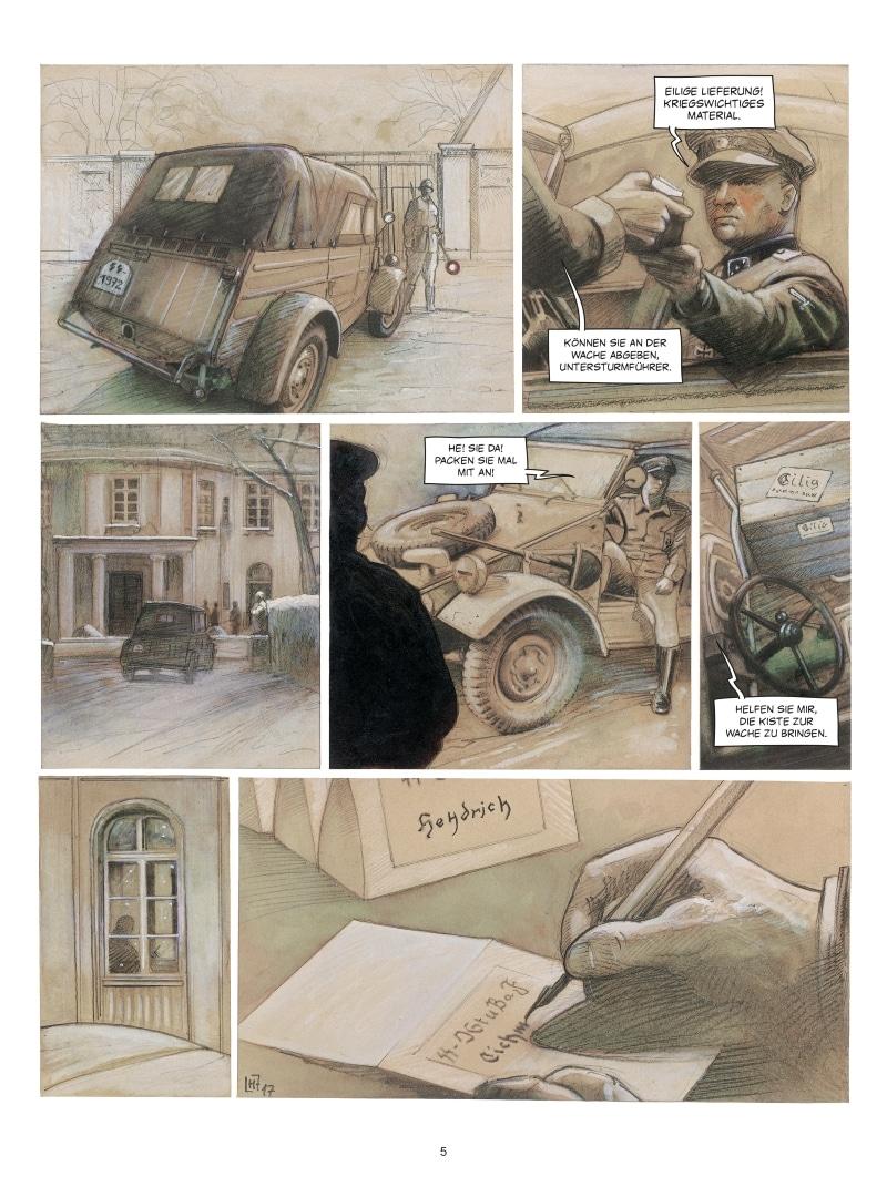 Wannsee Leseprobe Seite 5