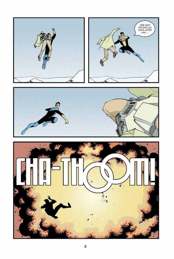 Leseprobe aus Invincible Comic
