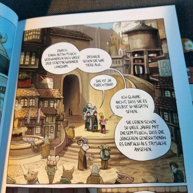 Leseprobe aus dem Comic
