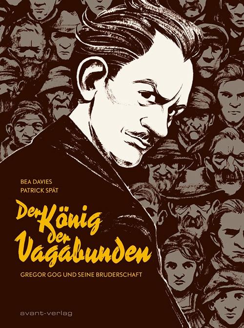 Cover zeigt Gregor Gog und im hintergrund viele Köpfe
