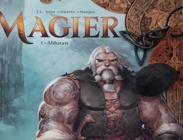 Cover des Comics darauf liegen Kettenanhänger mit keltischen Motiven