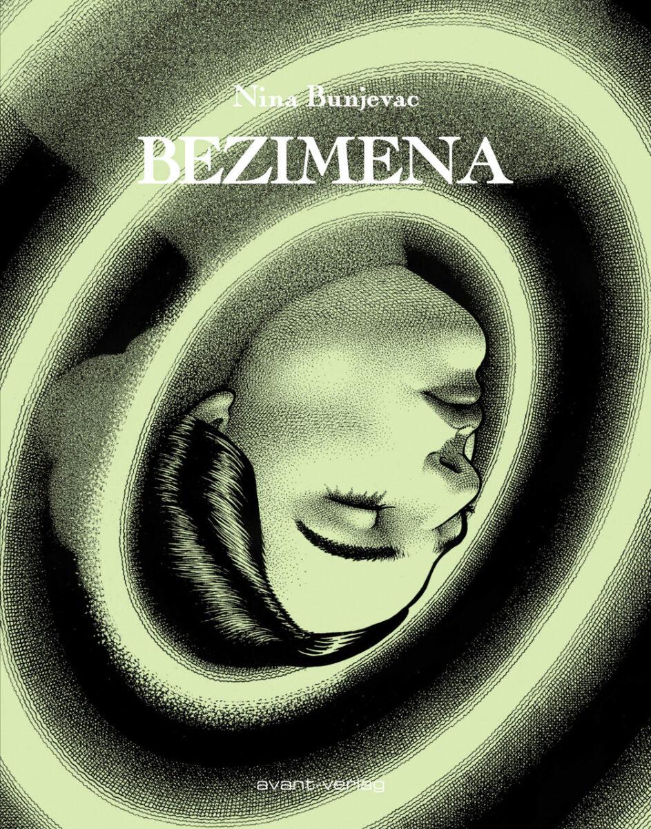 Cover des Buches - eine Frau versinkt in einem Strudel