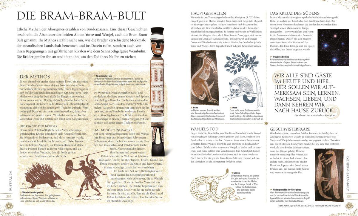 Leseprobe über Die Bram-Bram-Bult mit vielen Abbildungen