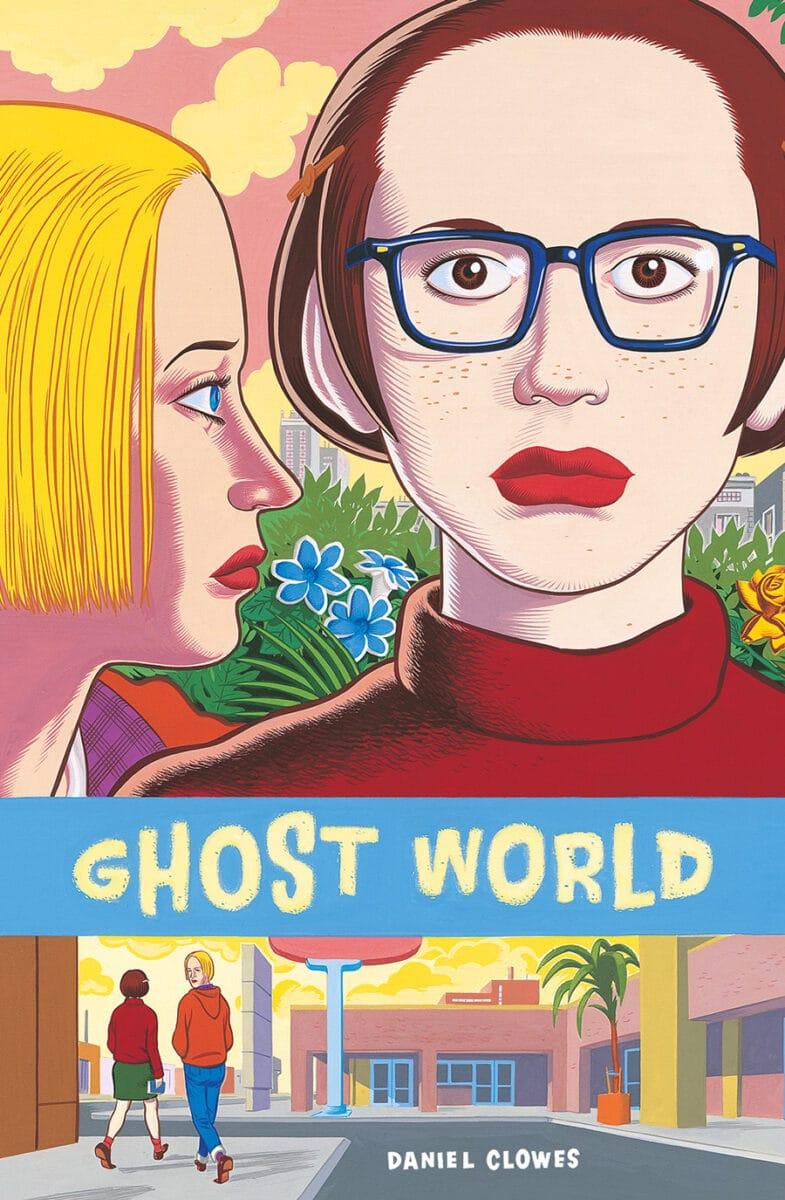 Cover zeigt die zwei Frauen und den Titel Ghost World